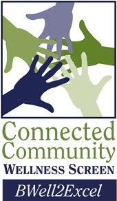 Connected Community Wellness Screen Logo